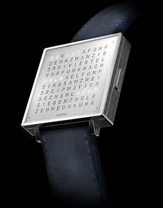 Uhr Mit Worten : zeit in worten qlocktwo von biegert funk biegert ~ A.2002-acura-tl-radio.info Haus und Dekorationen