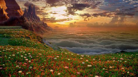Earth Landscape Wallpaper