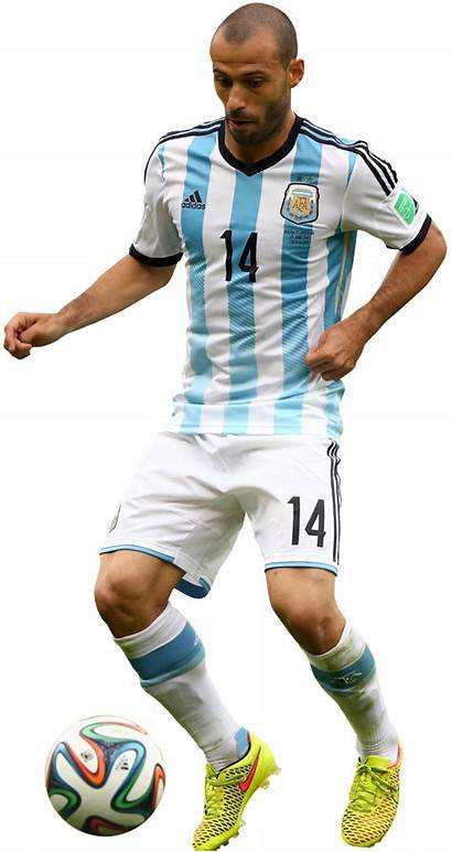 Mascherano Javier Render Argentina Renders Footyrenders Football