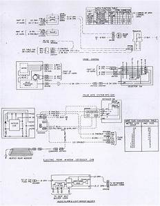 1981 Camaro Optional Accessories  Cd4 Pulse Wipers  Defrost  Wiring Schematic