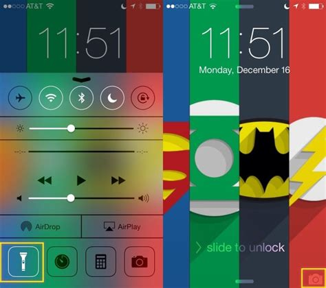 how to access flashlight on iphone turn that iphone flashlight without even using the