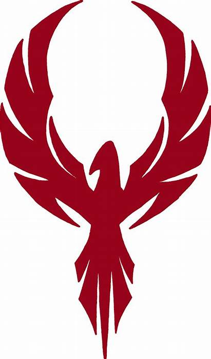 Phoenix Bird Firebird Logos Macgyver Clipart Tribal