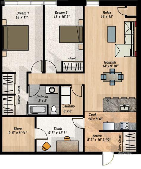 2 Bedroom Floor Plan Layout by 2 Bedroom Den Condo Layout The Hillcrest Condos
