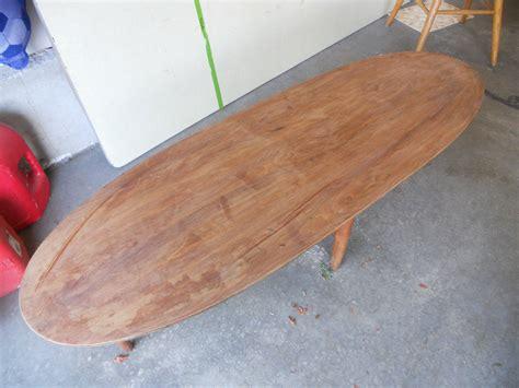 surfboard coffee table collectors weekly