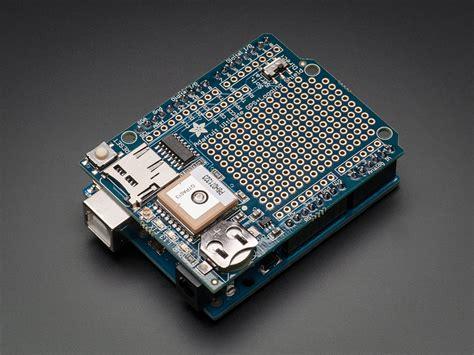 adafruit ultimate gps logger shield includes gps module