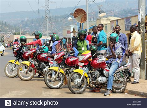 Motorcycle Taxi Africa Stockfotos & Motorcycle Taxi Africa