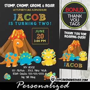 Little Dino Birthday Invitations, Dinosaur Party Ideas