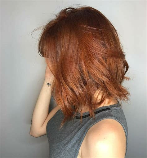 trendy choppy lob haircuts  women  medium hair