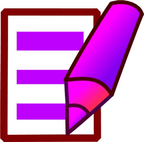 Library of folder with a pen paper clip picture freeuse ...