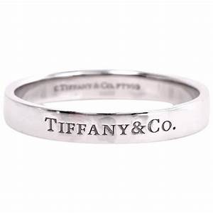 Tiffany And Co Mens Platinum Wedding Ring For Sale At