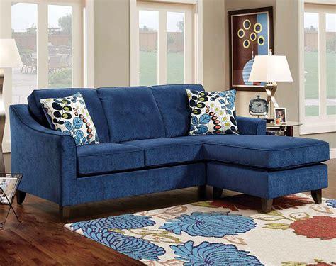 Blue Sofa Set Skyler 2 3 Blue Fabric Sofa Set Zuri