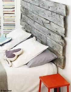 Tete De Lit Bois Flotté : fabriquer une t te de lit palette en bois flott ~ Teatrodelosmanantiales.com Idées de Décoration