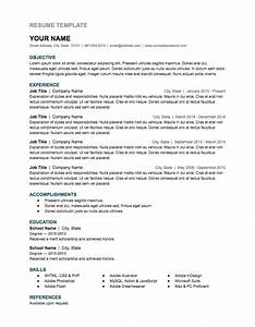 Free google docs and spreadsheet templates smart sheet for Google resume pdf
