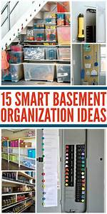 Tips, For, An, Organized, Basement