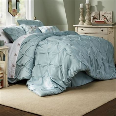 comforter set pintuck oversized square pillow and
