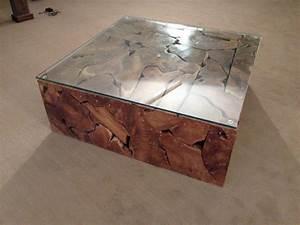 Wurzelholz Tisch Mit Glasplatte : couchtisch aus wurzelholz der tischonkel ~ Bigdaddyawards.com Haus und Dekorationen