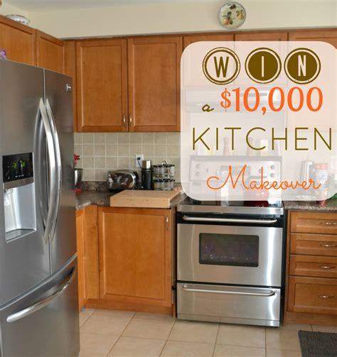 I Want A Kitchen Makeover And You Can Win One!  Amotherworld