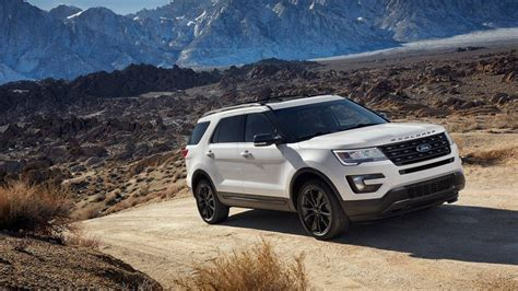 ford explorer review design competition facelift