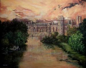 Russell 1000 Chart Warwick Castle England By Shirley Reade Castles