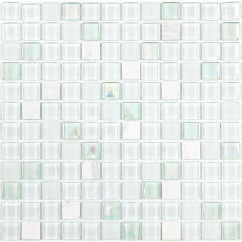 mosaique verte salle de bain mosa 239 que et verre white pearl blanche verte bleue indoor by