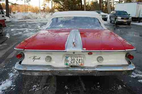 sell   plymouth fury convertible  kennebunkport