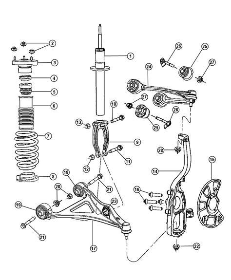 Dodge Neon Parts Diagram Rear Suspension Auto
