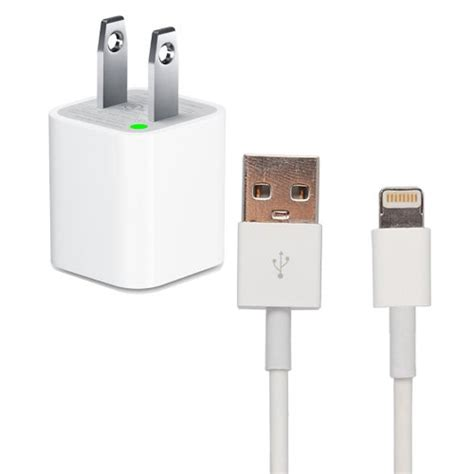iphone 5 charger elongpro iphone 5 wall charger includes 8 pin lightning