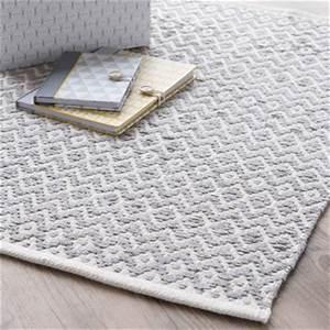 Tapis Scandinave Maison Du Monde : tapis tapis de salon en coton tress ou en lin ~ Teatrodelosmanantiales.com Idées de Décoration