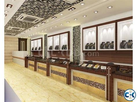 jewellery showroom interior design clickbd
