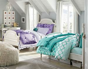 40, Cute, And, Interestingtwin, Bedroom, Ideas, For, Girls