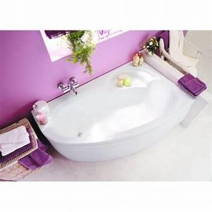 Baignoire D Angle Asymétrique : baignoire baln o d 39 angle asym trique en r sine aquarine ~ Dailycaller-alerts.com Idées de Décoration