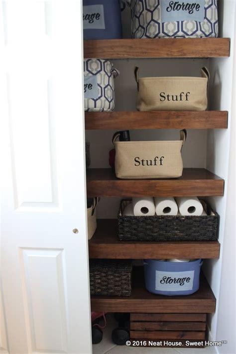bathroom closet shelving ideas diy covers for wire shelving hometalk
