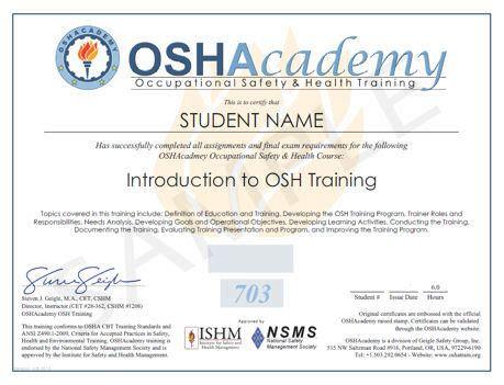 osha 10 certificate template best photos of osha certificate template osha certificates printable osha