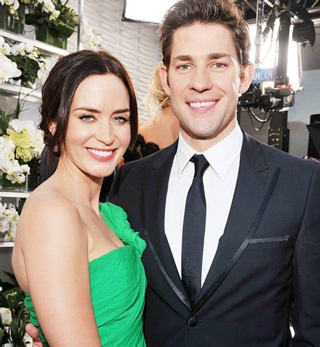 """A collection of facts with age, height. Emily Blunt: My Marriage to John Krasinski Is """"An Effing ..."""