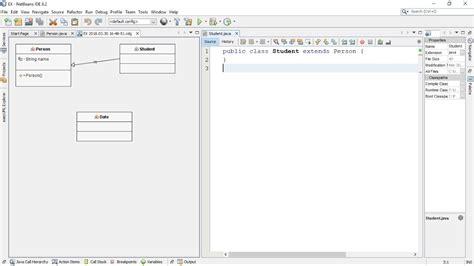 generate uml class diagram  java code