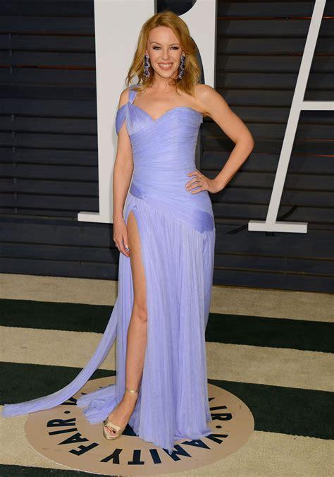 Kylie Minogue - 2015 Vanity Fair Oscar Party in Hollywood ...