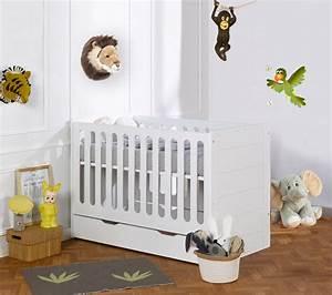 lit evolutif de bebe a enfant avec tiroir et sticker mural With déco chambre bébé pas cher avec fleuriste qui livre