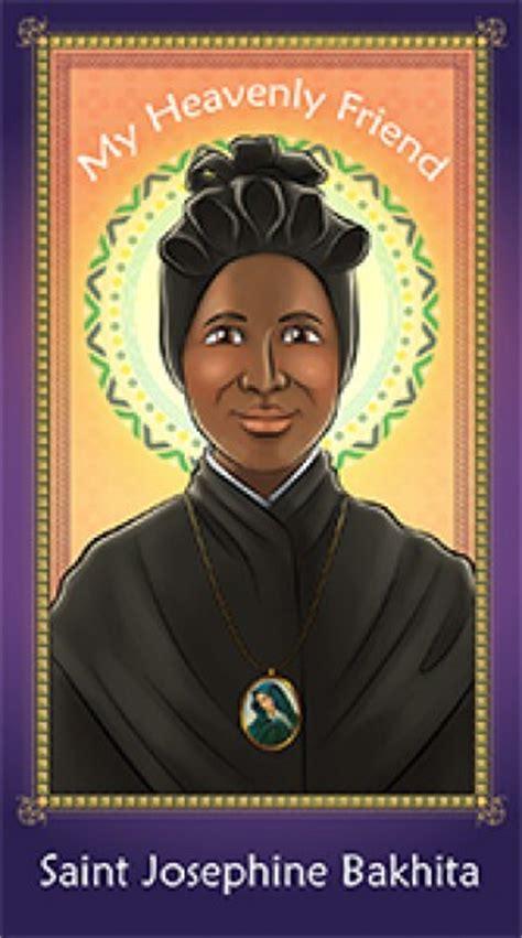herald store prayer card saint josephine bakhita