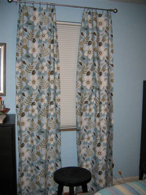 blue and brown curtains and drapes blue and brown curtains home decorating ideas