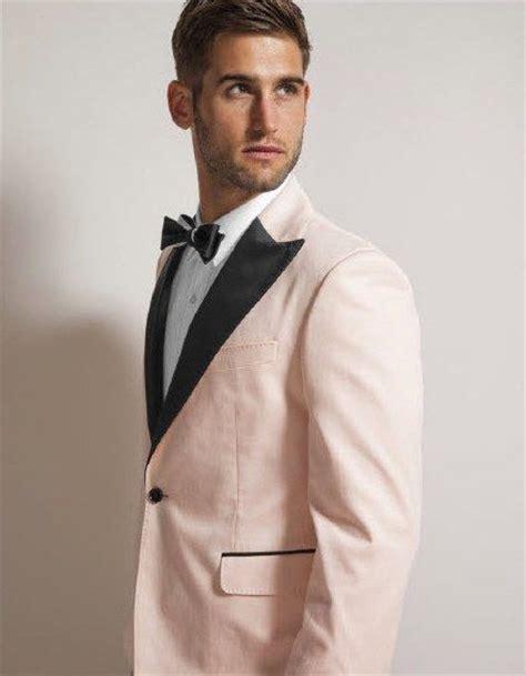 light pink tuxedo zandria s stylish wedding day look for the