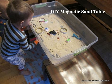how to sand a table diy magnetic sand table carrots are orange