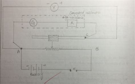 Ammeter In Circuit Diagram