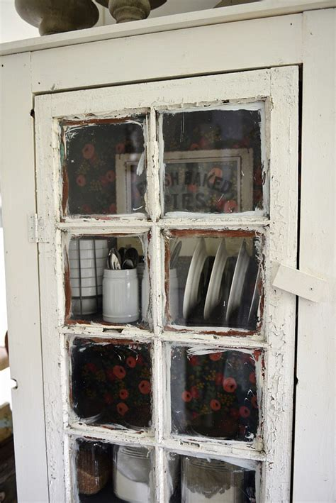 vintage inspired diy  window floor cabinet shelterness