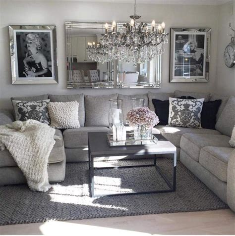 blackwhitegreypink living room inspo hem home decor