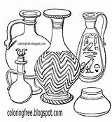 Clay Pot Drawing Pottery Coloring Pages Printable Egyptian Ancient Egypt Getdrawings Clipart African Water Pharaoh Jar Slave Culture Vessel Making sketch template