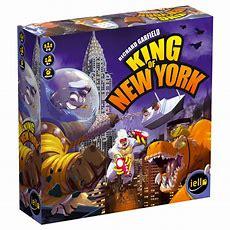 King Of New York  Un Jeu De Richard Garfield  Jeu De Société  Tric Trac