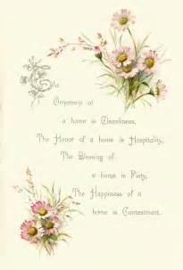 Vintage Wedding Flowers Clip Art Free