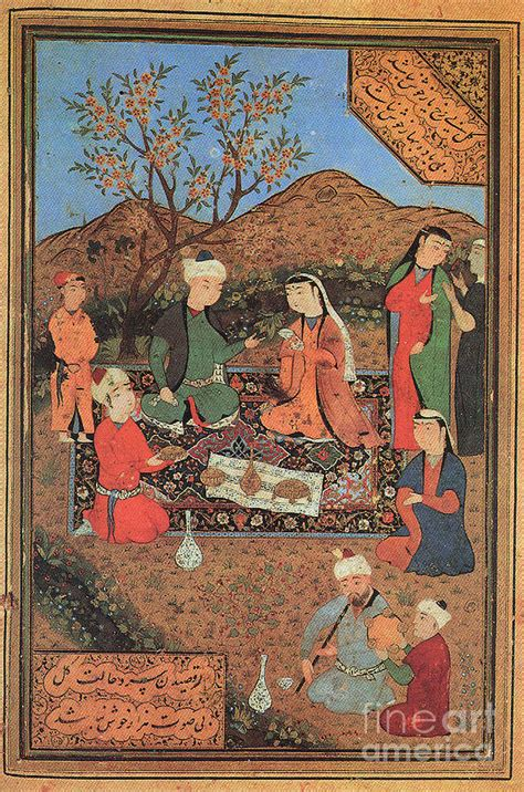 Persian Women Painting