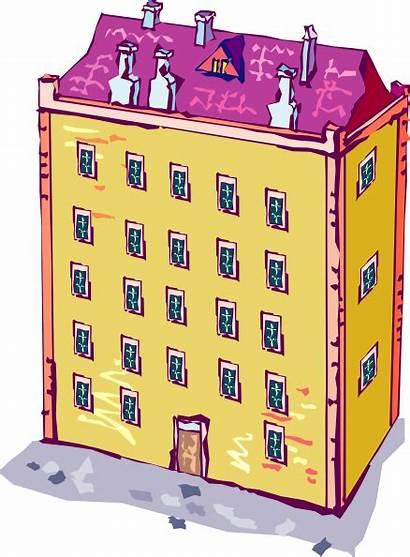 Clipart Building Apartment Transparent Condominio Inspector Comuni