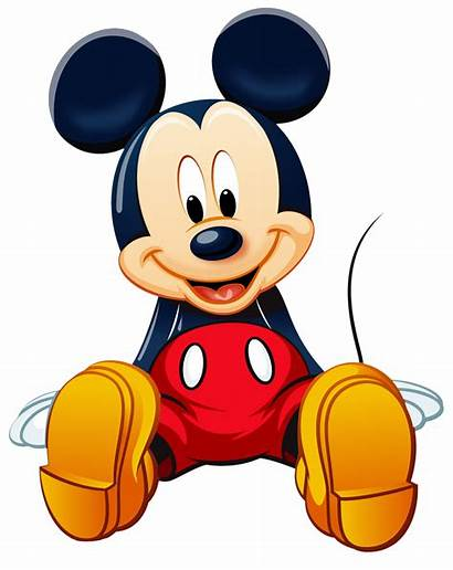 Mickey Mouse Transparent Purepng Yellow